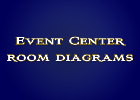 Event Center Room Diagrams