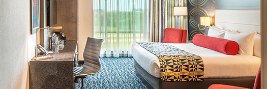 Hotel Accomodations at Rhythm City Casino Resort