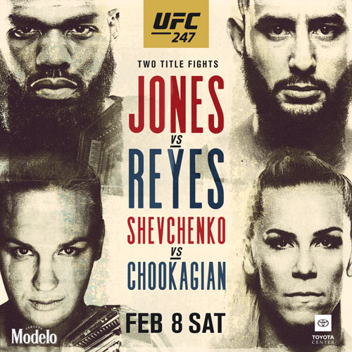 UFC247 JONES VS REYES